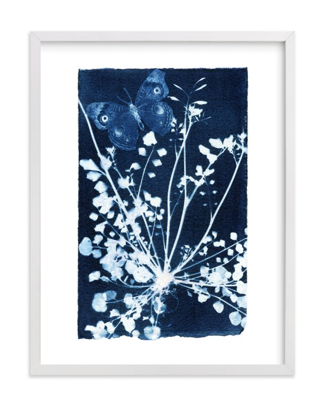 """""""Even weeds feed butterflies"""" - Limited Edition Art Print by raven erebus in beautiful frame options and a variety of sizes."""