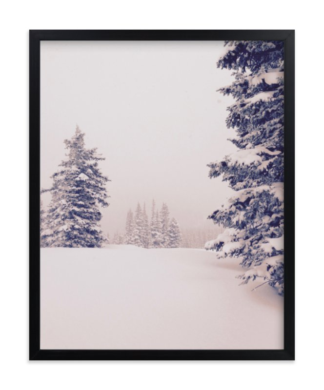 """Softly Falling"" - Art Print by Colby Zeiser in beautiful frame options and a variety of sizes."