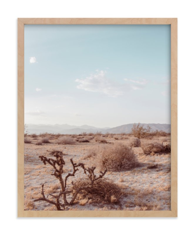 """""""Desert Hot Springs Study 3"""" - Art Print by Lisa Sundin in beautiful frame options and a variety of sizes."""