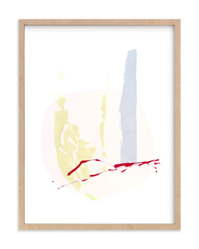 """""""Pink Moon"""" - Art Print by Hi Uan Kang Haaga in beautiful frame options and a variety of sizes."""