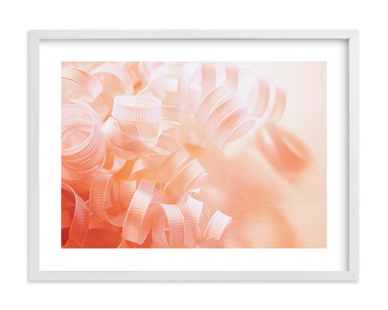 """""""Curly Ribbons"""" - Limited Edition Art Print by Monica Janes Fine Art in beautiful frame options and a variety of sizes."""