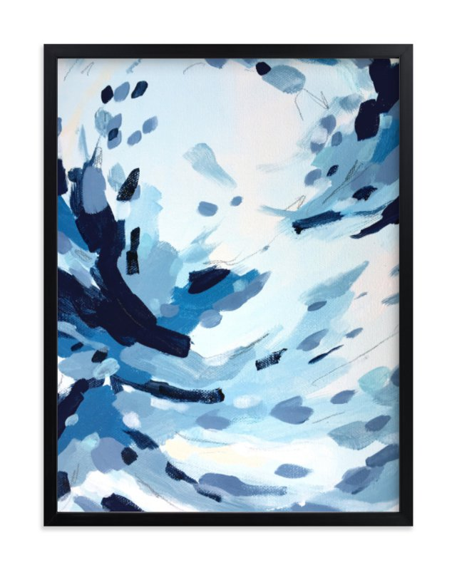 """""""Quietly like Rain"""" - Limited Edition Art Print by Katie Craig in beautiful frame options and a variety of sizes."""