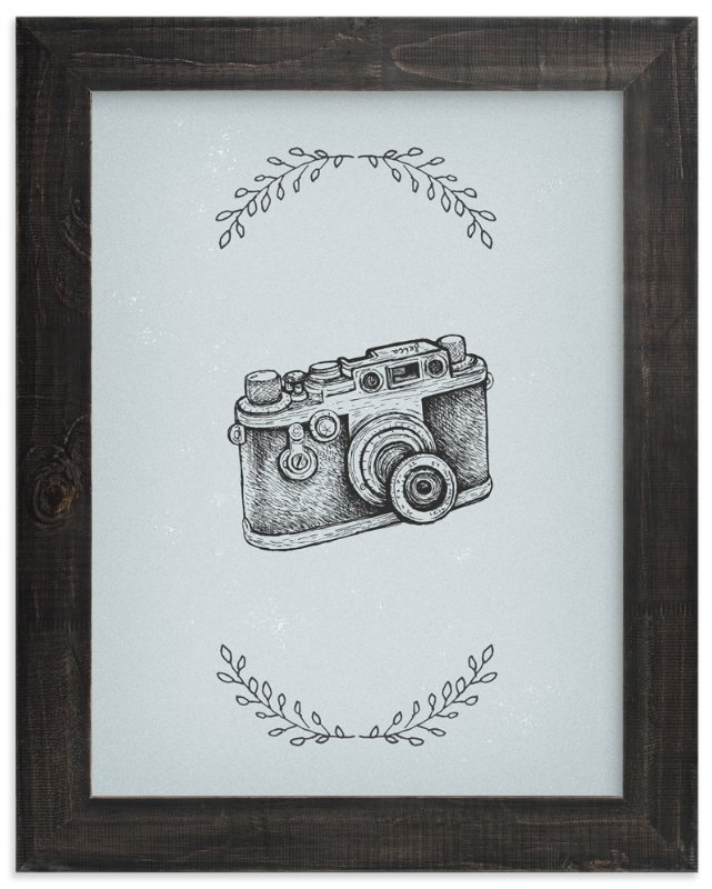"""Camera 6"" - Art Print by Smile Peace Love in beautiful frame options and a variety of sizes."