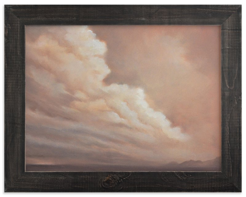 """""""Distant Rain"""" - Art Print by Kelly Money in beautiful frame options and a variety of sizes."""