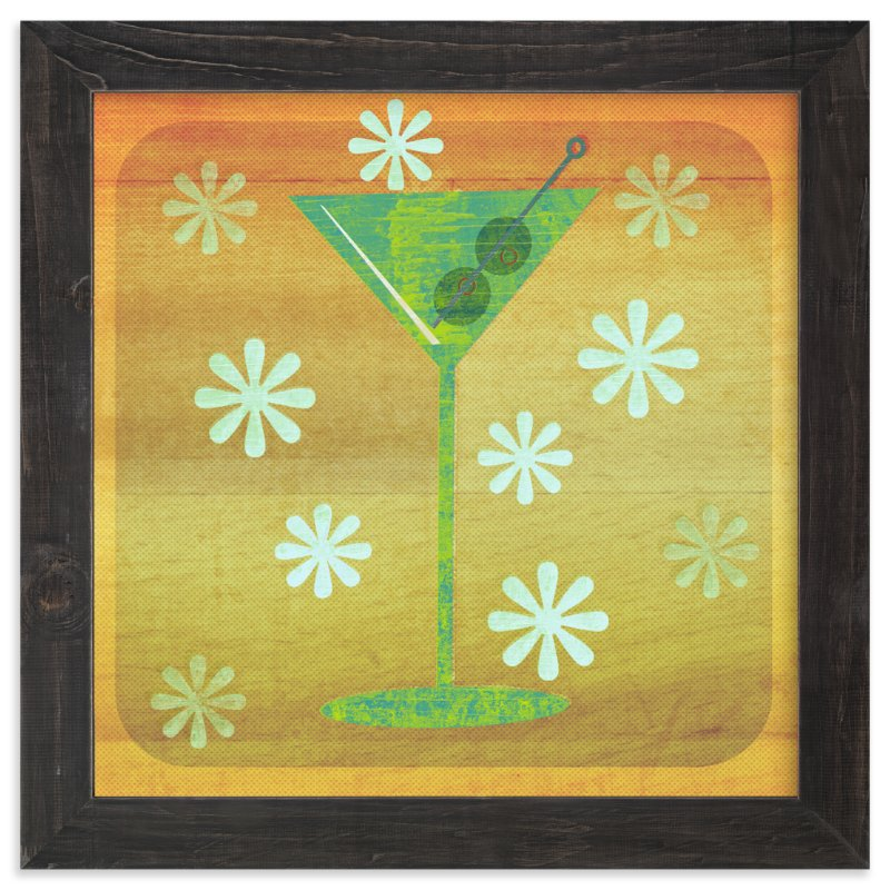Martini Hour Wall Art Prints by Anne Crosse | Minted