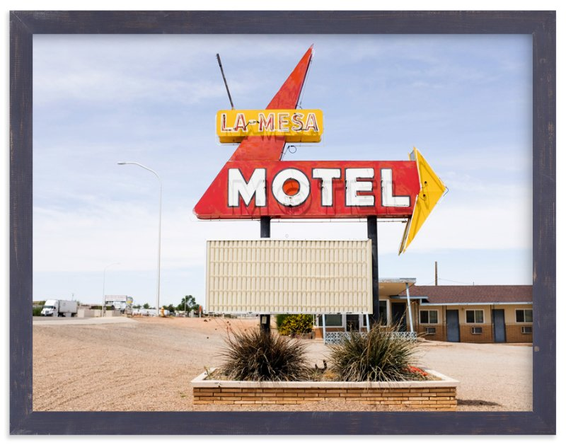 """""""Motel"""" - Art Print by Andrea Ament in beautiful frame options and a variety of sizes."""
