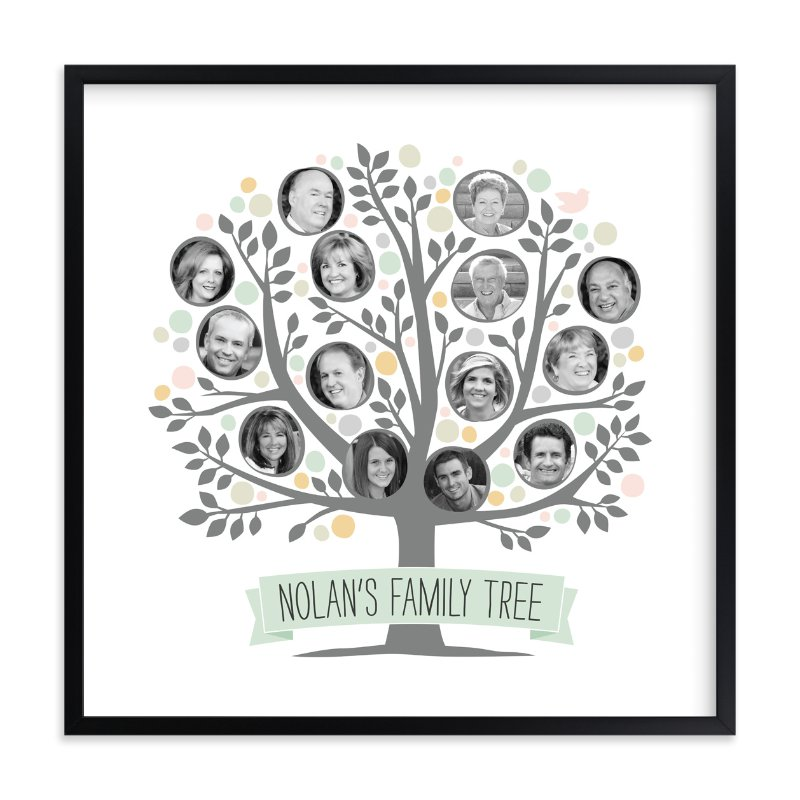 """""""Precious Family Tree"""" - Custom Photo Art Print by Jessie Steury in beautiful frame options and a variety of sizes."""